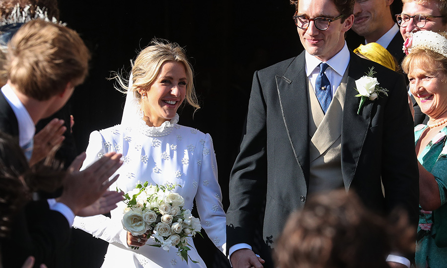 <h2>Ellie Goulding and Caspar Jopling</h2>