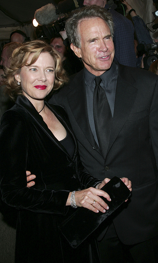 "Stay with us in 2004, when <strong><a href=""/tags/0/annette-bening"">Annette Bening</a></strong> was joined by hubby <strong><a href=""/tags/0/warren-beatty"">Warren Beatty</a></strong> on the red carpet for <i>Being Julia</i>.