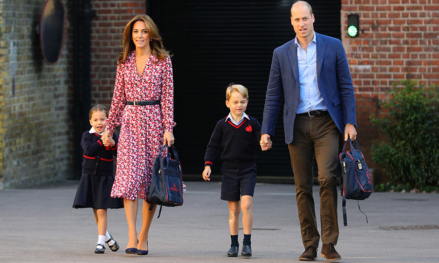 "<Strong><a href=""/tags/0/princess-charlotte"">Charlotte</a></strong>, who has been looking forward to starting school for some time now, arrived holding her mom <a href=""/tags/0/kate-middleton""><strong>Kate</a></strong>'s hand. 