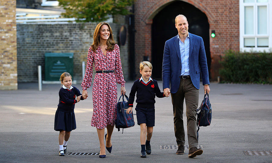 "<STRONG><A href=""/tags/0/princess-charlotte"">Princess Charlotte</a></strong> has started school! 