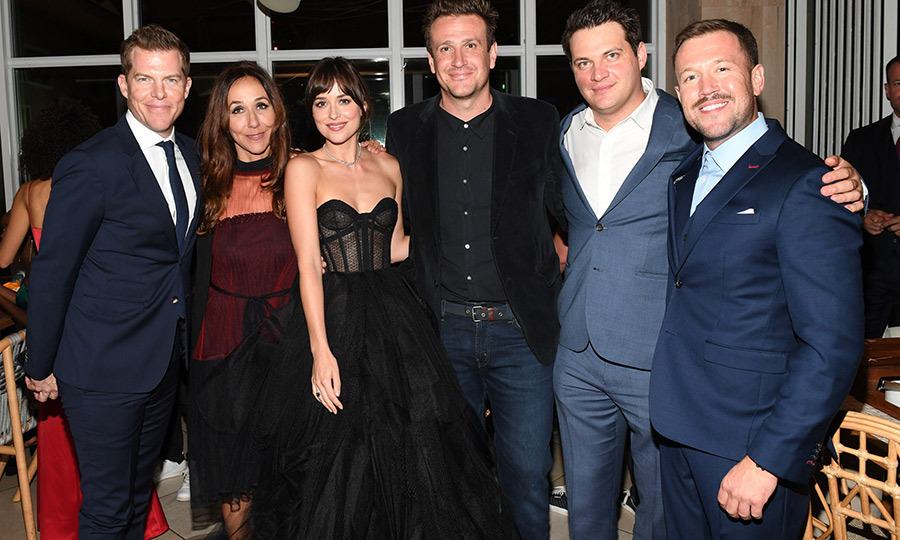 "The cast of <i>The Friend</i>, including <strong><a href=""/tags/0/dakota-johnson"">Dakota Johnson</a></strong> and <strong><a href=""/tags/0/jason-segel"">Jason Segel</a></strong>, enjoyed their premiere afterparty at KOST. 