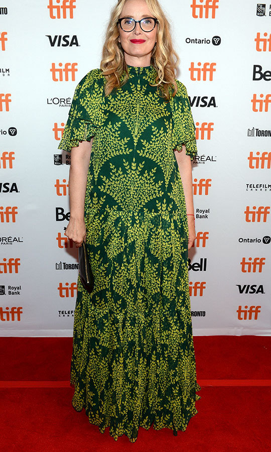 "Was <strong><a href=""/tags/0/julie-delpy"">Julie Delpy</a></strong>'s red carpet look at <i>My Zoe</i> inspired by <strong><a href=""/tags/0/meghan-markle"">Duchess Meghan</a></strong>? Her dress appears to be the green version of the Carolina Herrera look Meghan wore in Morocco earlier this year.