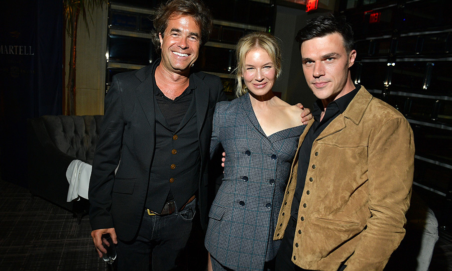 "<p><strong><a href=""/tags/0/renee-zellweger"">Renee Zellweger</a></strong> got some quality time in with <i>Judy</i> director <strong>Rupert Goold</strong> (left) a and her co-star <strong>Finn Wittrock</strong> (right) at the event.