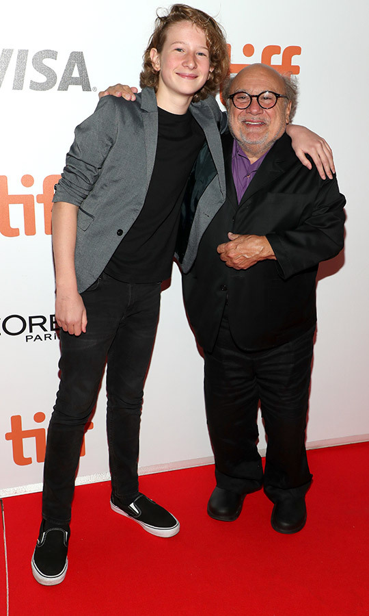 "<strong>Misha Handley</strong> and <Strong><a href=""/tags/0/danny-devito"">Danny DeVito</a></strong> love each other so much! They were hugging each other on the <i>Song of Names</i> red carpet and were spotted at a party hugging after, too. So sweet!
