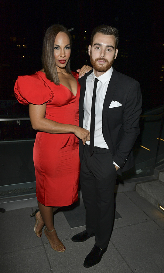 "<i>The Handmaid's Tale</i> star <strong><a href=""/tags/0/amanda-brugel"">Amanda Brugel</a></strong> was also there with <i>Cardinals</i> directr <Strong>Aidan Shipley</strong>.