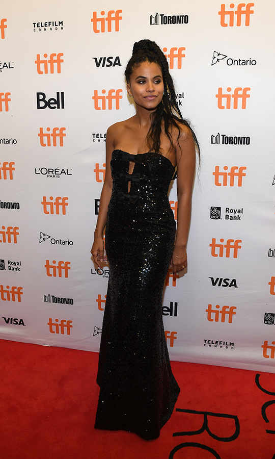 "<strong>Zazie Beetz</strong> wore her second amazing dress at <strong><a href=""/tags/0/TIFF"">TIFF</a></strong> 2019 on the <i>Lucy in the Sky</i> red carpet.