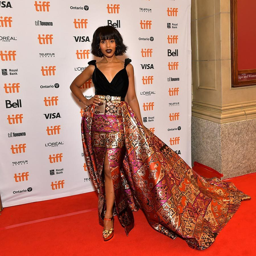 "We are completely OBSESSED with <strong><a href=""/tags/0/kerry-washington"">Kerry Washington</a></strong>'s look on the <i>American Son</i> red carpet! 