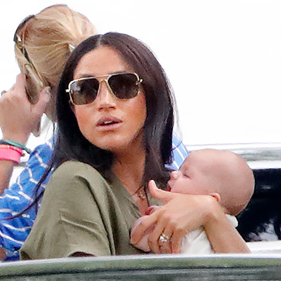"In July, <strong><a href=""/tags/0/archie-harrison"">Archie</a></strong> attended his first public outing as a royal when he and mom <strong><a href=""/tags/0/meghan-markle"">Duchess Meghan</a></strong> attended a charity polo match to watch <strong><a href=""/tags/0/prince-harry"">Prince Harry</a></strong> compete against <strong><a href=""/tags/0/prince-william"">Prince William</a></strong> for a good cause. He adorably slept in his mom's arms for most of the time.
