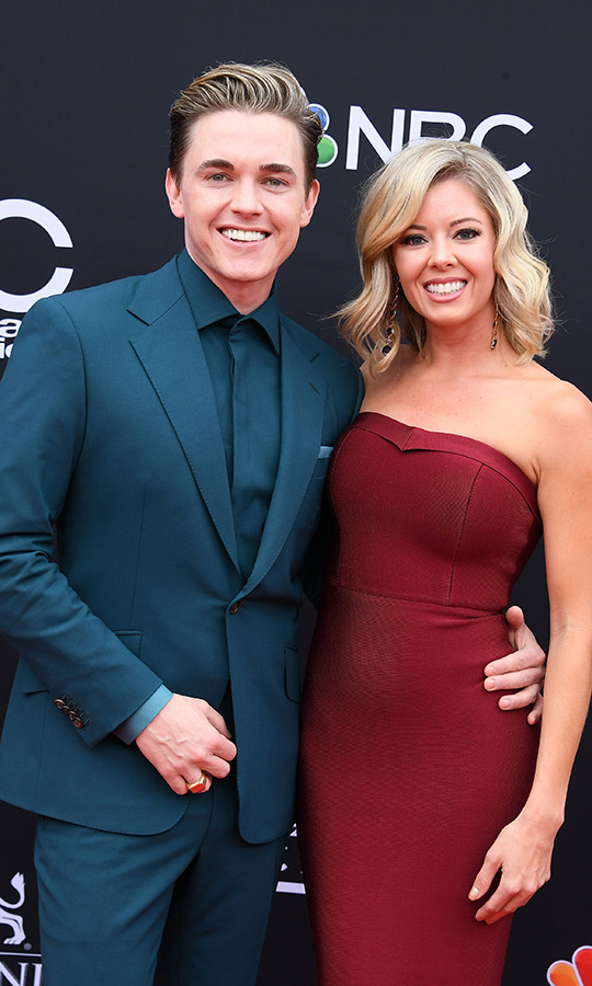 <h2>Jesse McCartney and Katie Peterson</h2>