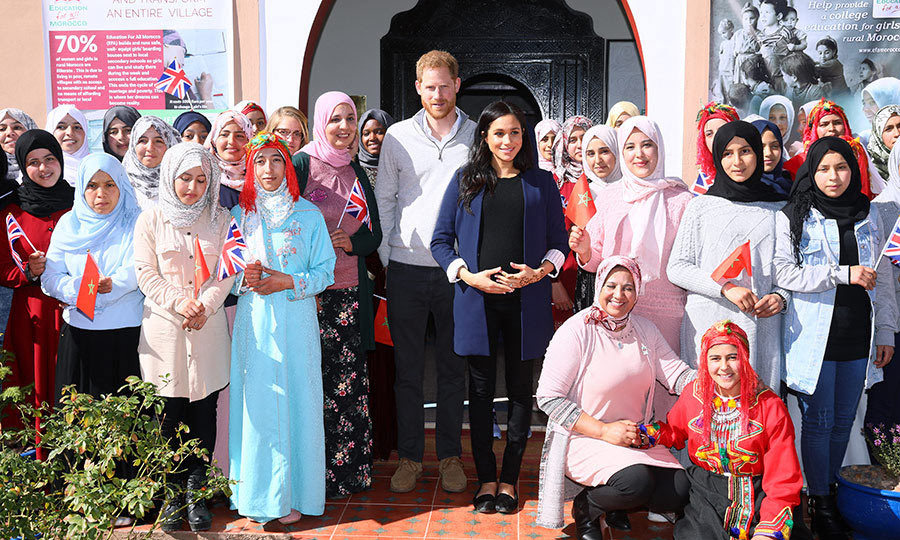 "On Feb. 24, <Strong><a href=""/tags/0/prince-harry"">Harry</a></strong> and <strong><a href=""/tags/0/meghan-markle"">Meghan</a></strong> visited a boarding house for girls run by NGO Education for All. The facility makes sure women and girls have access to education, which is something the Duchess of Sussex is passionate about. 