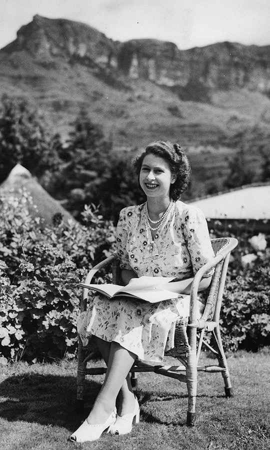 "On the same trip, <strong><a href=""/tags/0/queen-elizabeth-ii"">Elizabeth</a></strong> looked relaxed and happy as she spent her 21st birthday reading in Royal Natal National Park in South Africa's KwaZulu Natal state. 