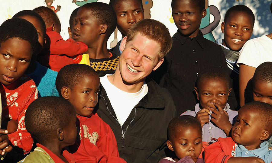 "In 2006, <strong><a href=""/tags/0/prince-harry"">Prince Harry</a></strong> met youngsters in the grounds of the Mants'ase children's home while on a return visit to Lesotho. The prince was in the country to launch his new charity, <strong><a href=""/tags/0/sentebale"">Sentebale</a></strong>, which means ""Forget me not"" in memory of his mother, <strong><a href=""/tags/0/princess-diana"">Princess Diana</a></strong>.