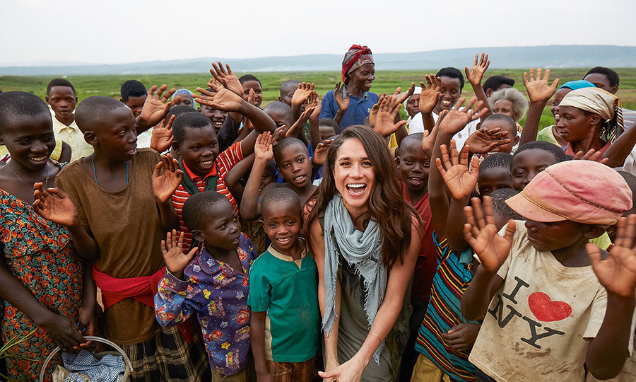 "<strong><a href=""/tags/0/meghan-markle"">Meghan</a></strong> had previously spent time in Rwanda, where she travelled as a Global Ambassador for World Vision Canada to promote their Clean Water Campaign in 2016. 