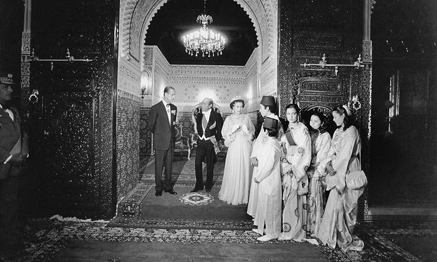 "<Strong><a href=""/tags/0/queen-elizabeth-ii"">The Queen</a></strong> and <Strong><a href=""/tags/0/prince-philip"">Prince Philip</a></strong> have spent time in Morocco, too. While there in 1980, they met the family of late King Hassan II (1929 - 1999) at the royal palace in Rabat.