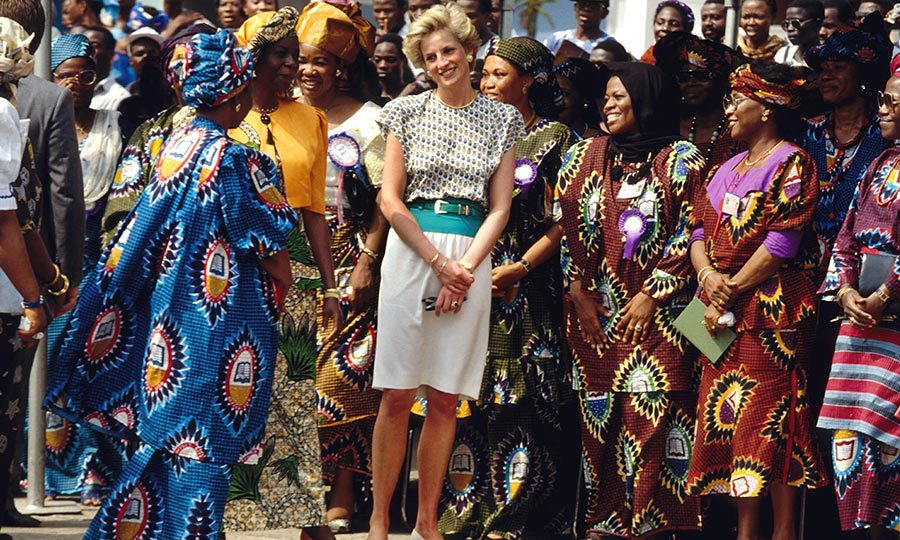 "<strong><a href=""/tags/0/princess-diana"">Diana</a></strong> had visited the continent before her most famous trip in 1997. 