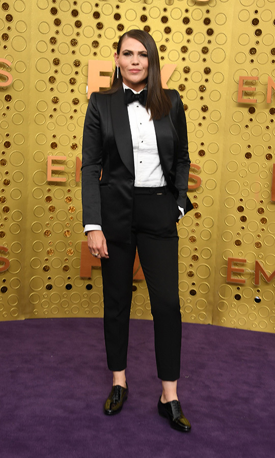 "<strong><a href=""/tags/0/clea-duvall"">Clea Duvall</a></strong> came in a suit! She looked so stunning!