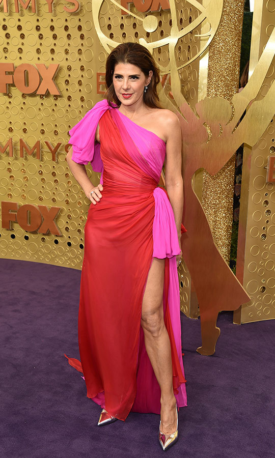 "Pink and red gowns were really a trend this year! <strong><a href=""/tags/0/marisa-tomei"">Marisa Tomei</a></strong> was just one of several stars who wore one.
