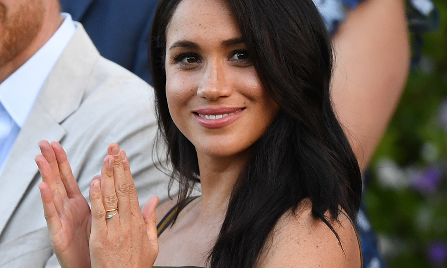 Meghan Markle brings back Martin Grant dress she wore in Australia for special reception in Cape Town - HELLO! Canada