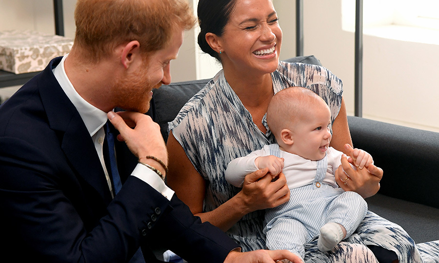Meghan had a good laugh! 