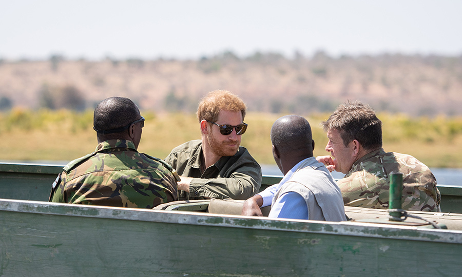 Like many in his family, Harry is a passionate conservationist. He looked like he was having a great time on the patrol as he learned about the unit's important work.