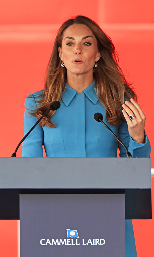 Kate gave a speech at the event, too!