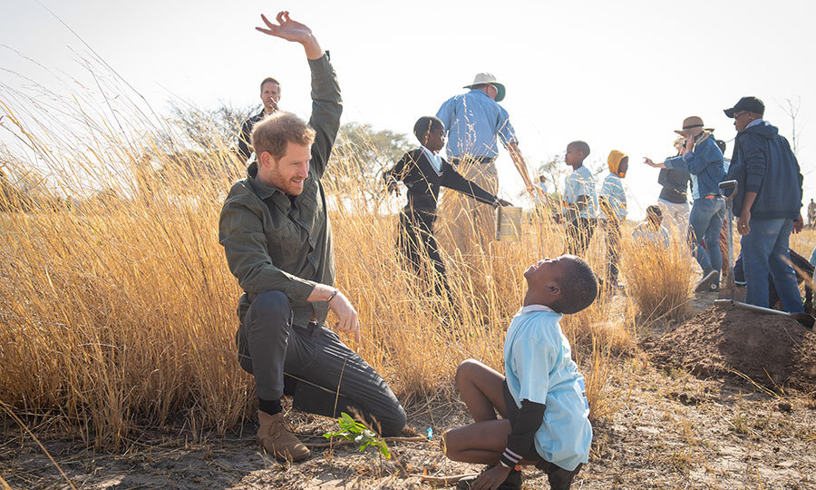 'Deeply connected to this place': Why Botswana is so important to Prince Harry