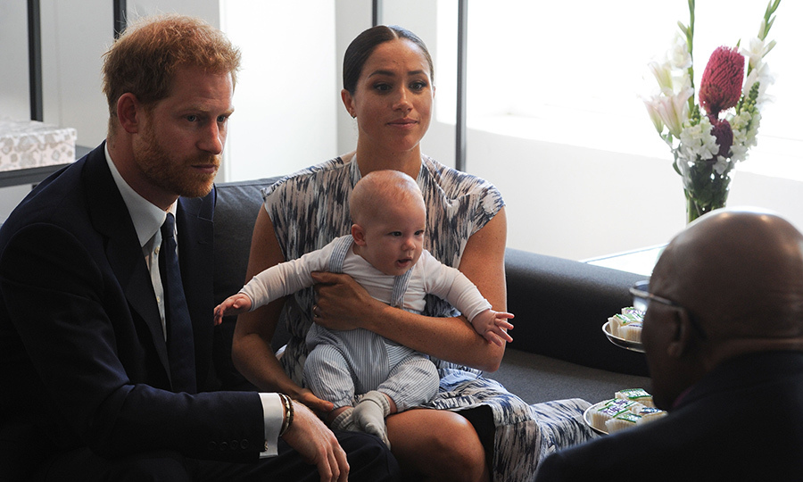 "Meghan called her son an ""old soul,"" while Harry said he already seemed used to the cameras. Archie seemed fascinated with Thandeka, which prompted her to make a joke about how one day he was going to be a ""ladies' man.""