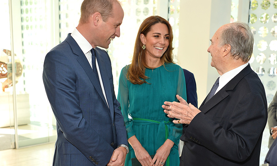 Once inside, William and Kate took some time to chat with <strong>Shah Karim Hussaini, Aga Khan IV</strong>. He is the spiritual head of Nizari Ismaili Islam, which is practiced by between 10-12 per cent of the world's Shi'a Muslims. His followers believe he is a direct descendant of the Prophet Muhammad. 