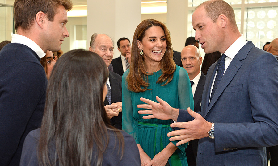 The Duke and Duchess of Cambridge took some time to chat with many of the event guests, too!