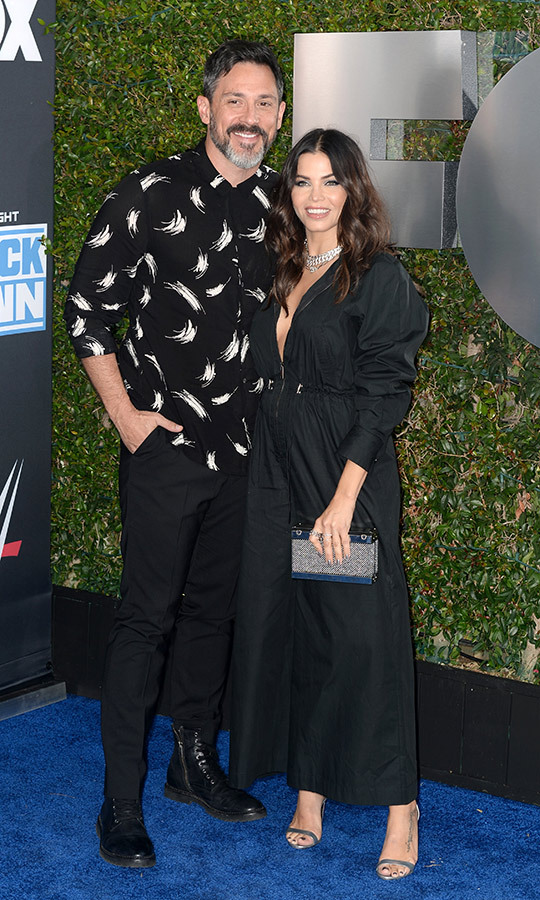 <h2>Steve Kazee and Jenna Dewan</h2>