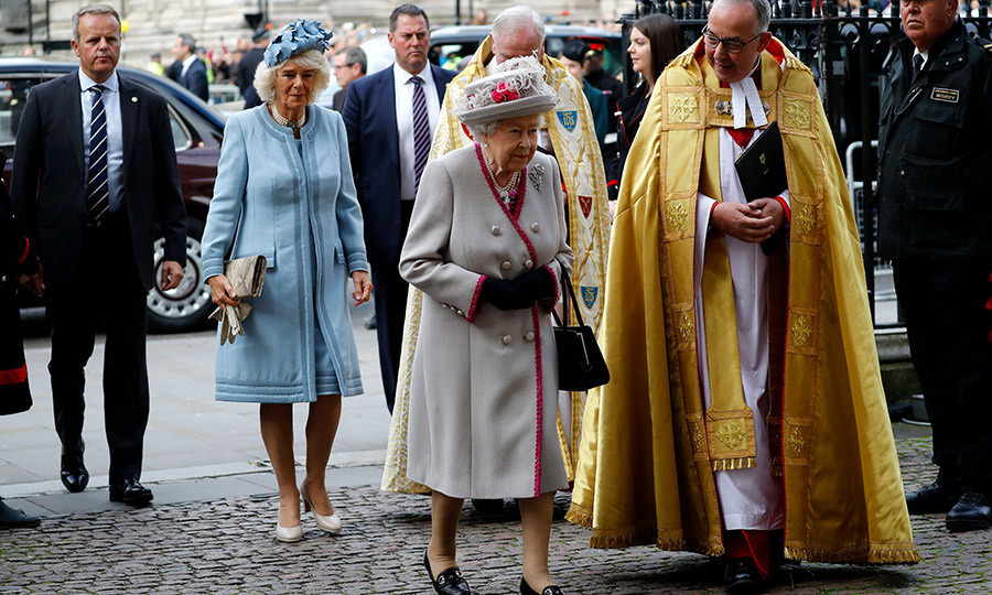 It's been so long since we've seen these two at a joint engagement! 