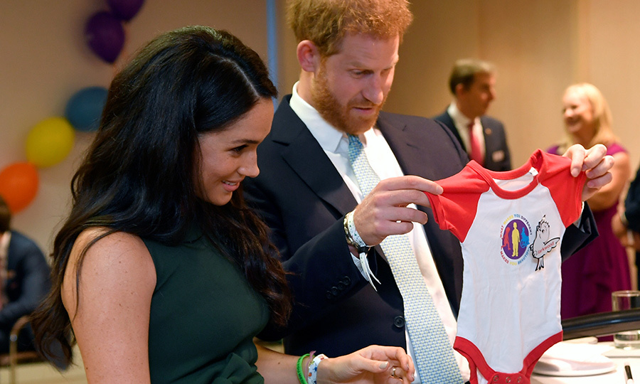 "They also received a special onesie for <strong><a href=""/tags/0/archie-harrison"">Archie Harrison</a></strong>, who they confirmed has red hair! 