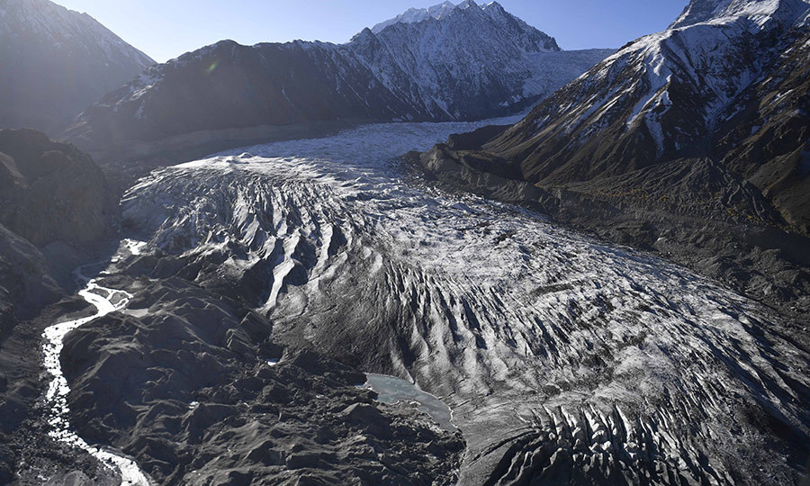 Chiatibo is one of 7,000 of Pakistan's 7,200 glaciers that scientists say is at risk of melting due to climate change. 