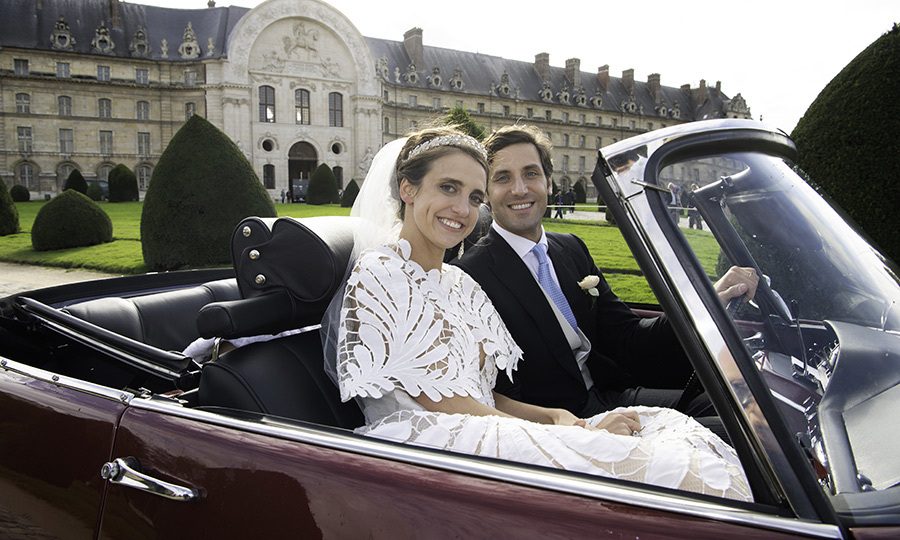 One of <strong>Napoleon Bonaparte</strong>'s descendants got married this weekend!