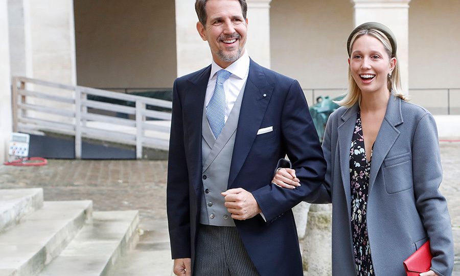 Greek's royals were represented by <strong>Crown Prince Pavlos</strong> and <Strong>Crown Princess Marie-Chantal</strong>.
