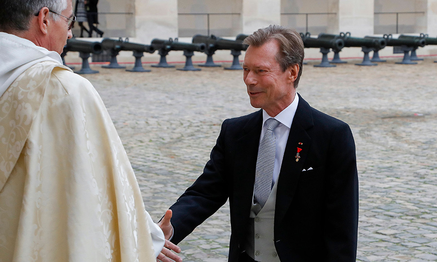 <strong>Grand Duke Henri of Luxembourg</strong> made a special appearance.
