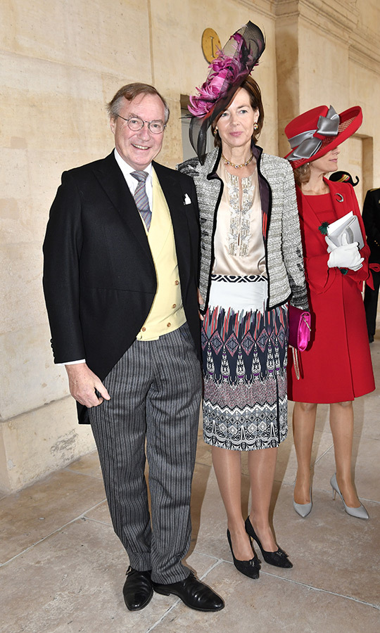 <strong>Prince Jean de Luxembourg</strong> attended with his wife, <strong>Diane de Guerre</strong>.