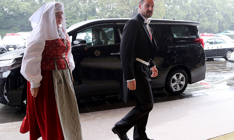 "Norway's <Strong><a href=""/tags/0/crown-prince-haakon"">Crown Prince Haakon</a></strong> was among the first royals to arrive.
