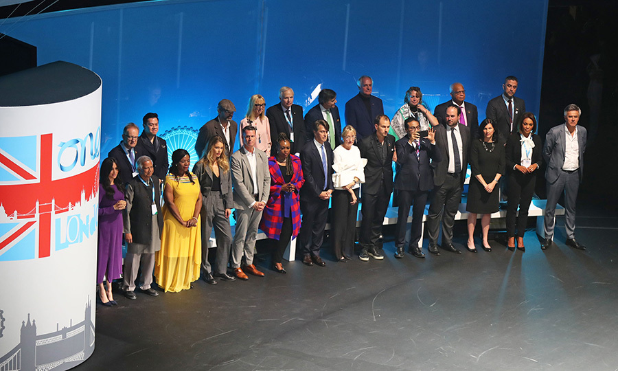 This year, The Queen's Commonwealth Trust partnered with One Young World to bring 53 young leaders from Commonwealth countries to the summit. Meghan is the Vice-President of The Queen's Commonwealth Trust, so this year she was attending in that capacity. 
