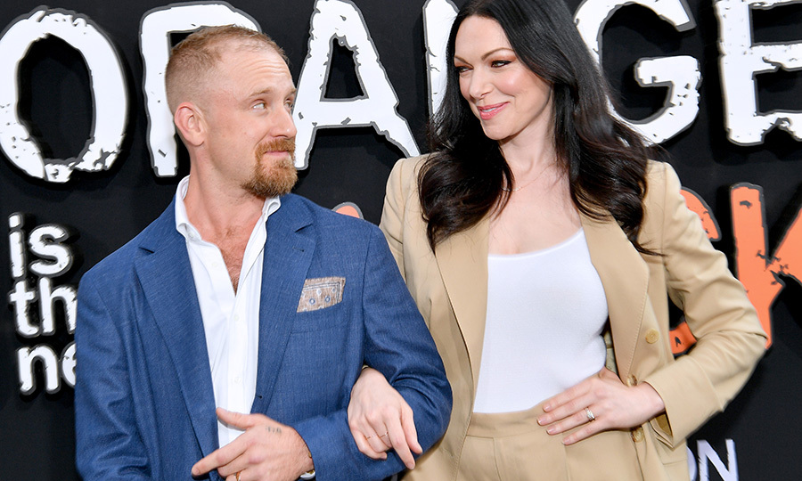 <h2>Laura Prepon and Ben Foster</h2>