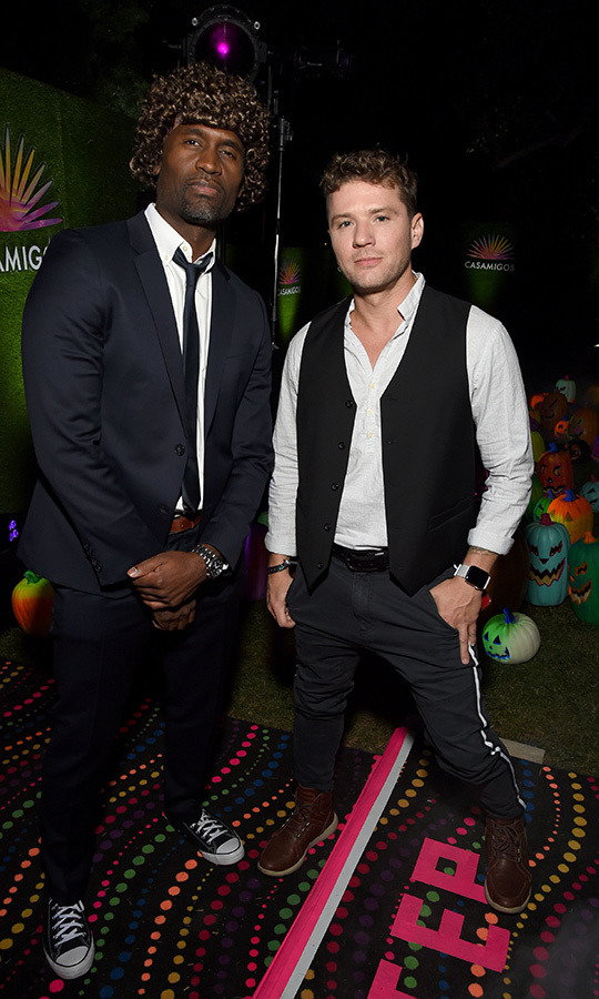 "<strong><a href=""/tags/0/brian-washington"">Brian Washington</a></strong> showed up to the Casamigos party as Jules from <i>Pulp Fiction</i>, but we're a little unclear as to who <strong><a href=""/tags/0/ryan-phillippe"">Ryan Phillippe</a></strong> is supposed to be here... 