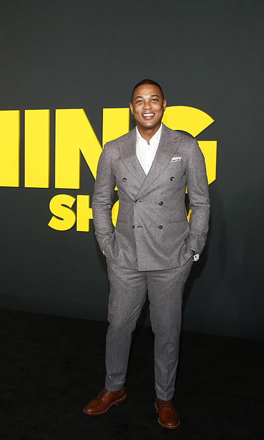 "Anchor <strong><a href=""/tags/0/don-lemon"">Don Lemon</a></strong> looked spiffy in a grey suit with brown oxfords. 
