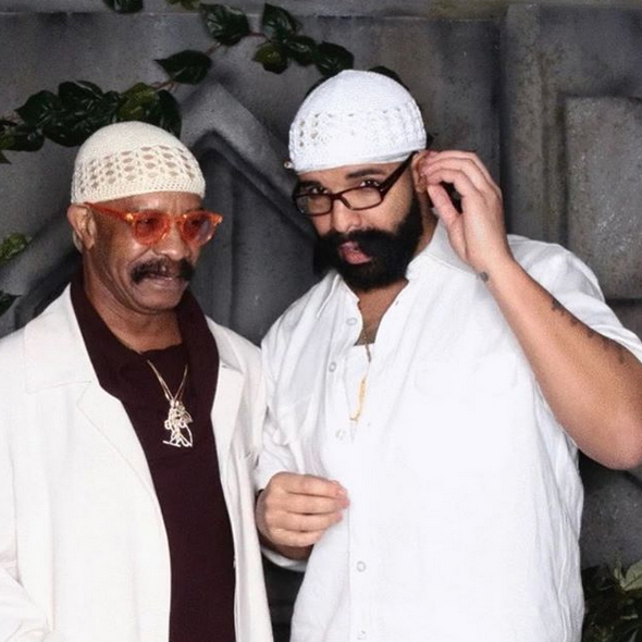 "<strong><a href=""/tags/0/drake"">Drake</a></strong> dressed up as his dad, but wrote on Instagram that it ""wasn't planned."" LOL. 