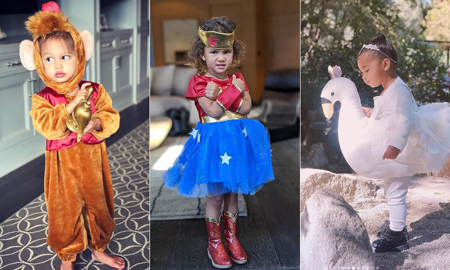Halloween is here, and with it, celebrities are dressing their kids up in adorable costumes once again! We love seeing Hollywood A-listers get a kick out of whatever character their kids opt to be for the big day each year, and so far in 2019 there are already tons of great costumes, from Wonder Woman to Elvis Presley!