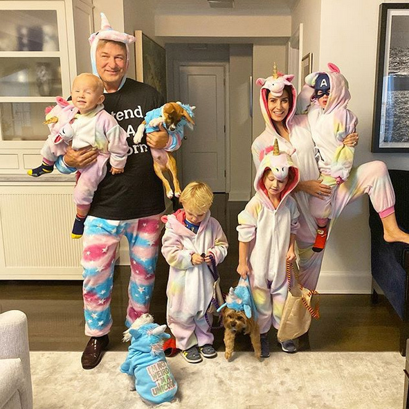 "<Strong><A href=""/tags/0/alec-baldwin"">Alec Baldwin</a></strong> and <strong><a href=""/tags/0/hilaria-baldwin"">Hilaria Baldwin</a></strong> were dressed as unicorns, as was their entire brood!