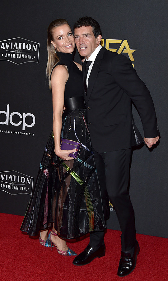 "He also brought <Strong><a href=""/tags/0/nicole-kempel"">Nicole Kempel</a></strong> with him for date night! She wowed in a very unique sheer colour ensemble.