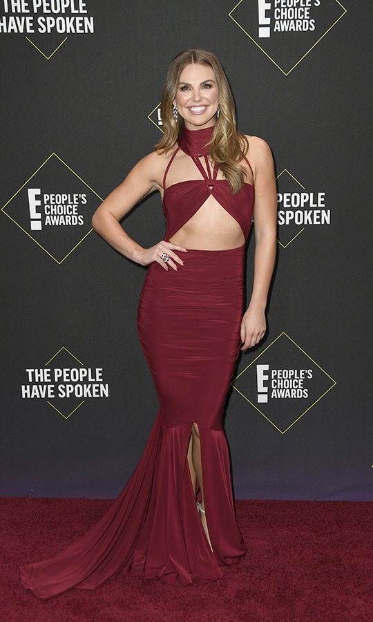 "<i><a href=""/tags/0/the-bachelorette""><strong>The Bachelorette</a></strong></i>'s <strong><A href=""/tags/0/hannah-brown"">Hannah Brown</a></strong> showed off her strong style sense with a gorgeous red dress and halter top that had unique patterns and cutouts. 