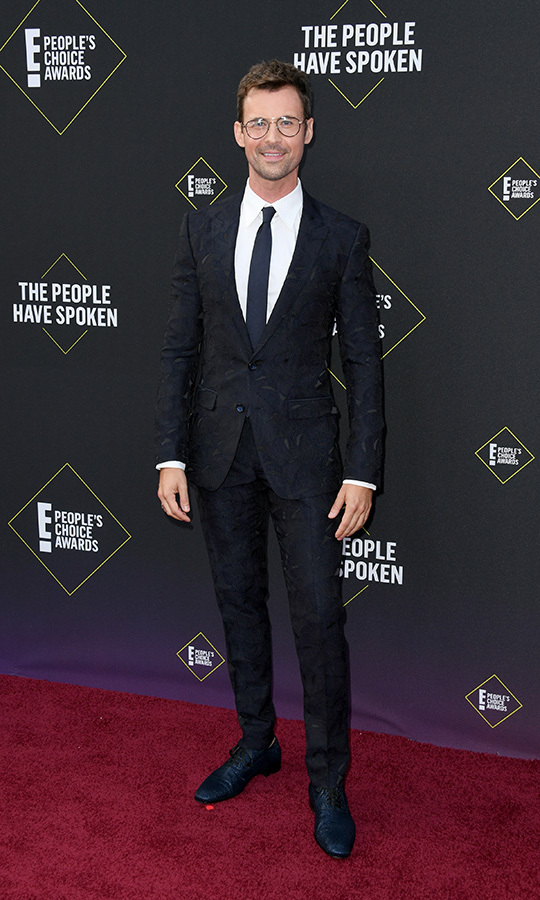 "<strong><a href=""/tags/0/brad-goreski"">Brad Goreski</a></strong> looked spiffy in a simple suit. 