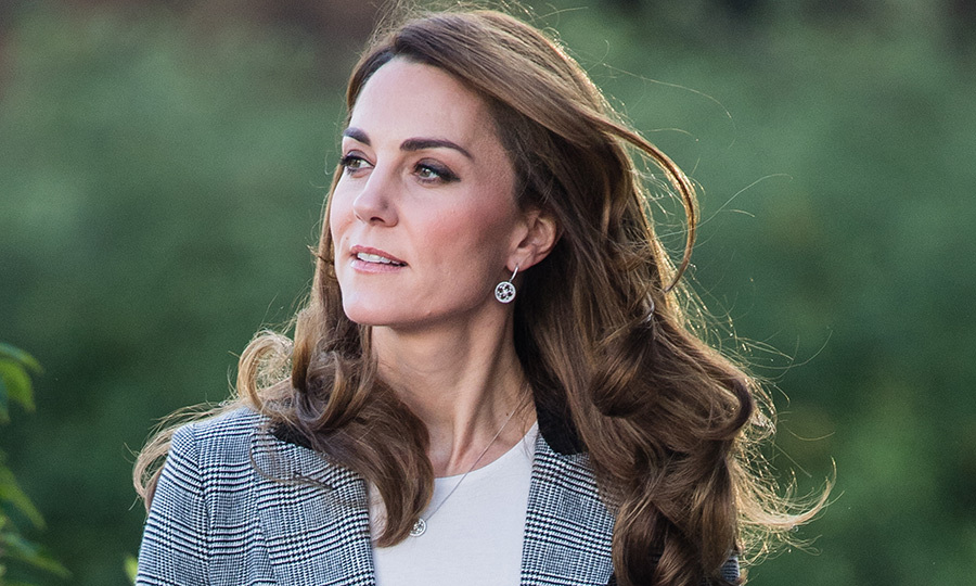 The duchess was also wearing earrings and a matching necklace from <strong>Mappin and Webb</strong>.