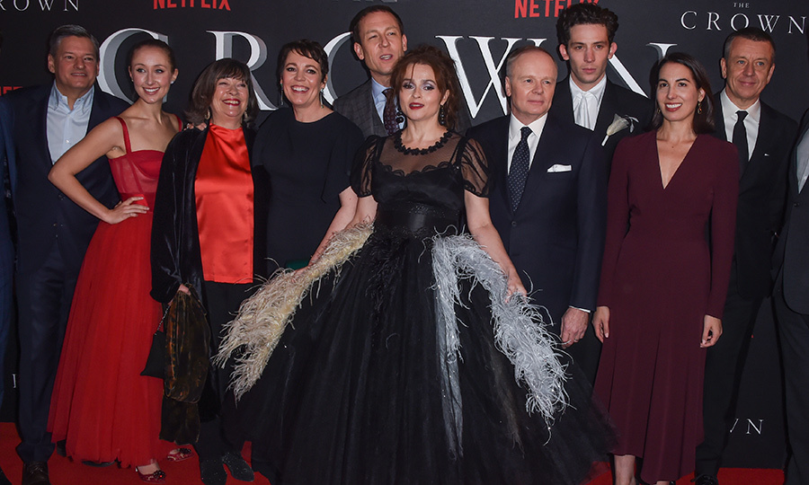 "The cast of Season 3 of <strong><a href=""/tags/0/the-crown""><i>The Crown</a></strong></i> took London by storm on Nov. 13 at the premiere! <strong><a href=""/tags/0/olivia-colman"">Olivia Colman</a></strong>, <a href=""/tags/0/helena-bonham-carter""><strong>Helena Bonham Carter</a></strong>, <strong><a href=""/tags/0/tobias-menzies"">Tobias Menzies</a></strong>, <strong><a href=""/tags/0/josh-oconnor"">Josh O'Connor</a></strong>, <strong><a href=""/tags/0/erin-doherty"">Erin Doherty</a></strong>, <strong><a href=""/tags/0/gillian-anderson"">Gillian Anderson</a></strong> and many more were on hand for the incredible event at The Curzon Mayfair. Not only did the cast display their impeccable sartorial sense, but they also had a complete ham with each other!